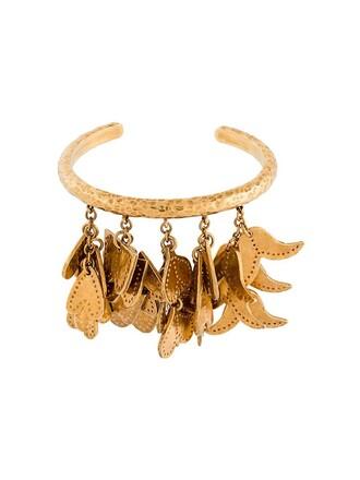 cuff cuff bracelet metallic jewels