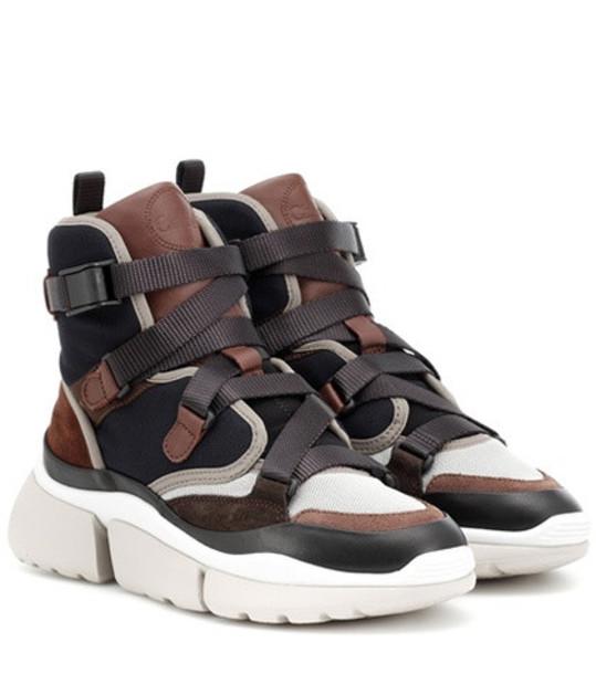 Chloé Sonnie sneakers in brown