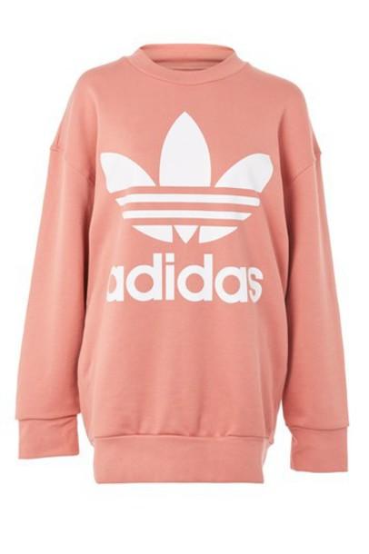 sweater dark adidas originals pink