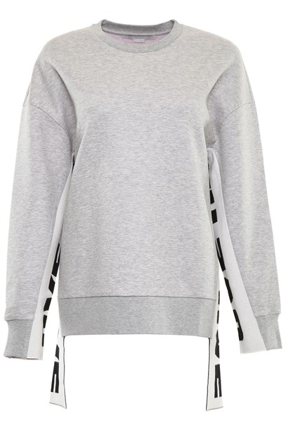 Stella McCartney sweatshirt love grey sweater