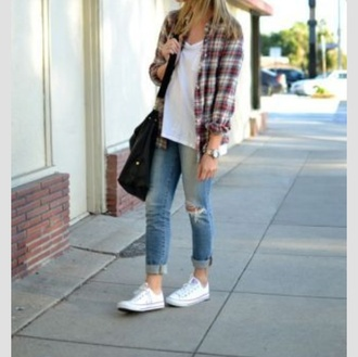 cardigan plaid flannel