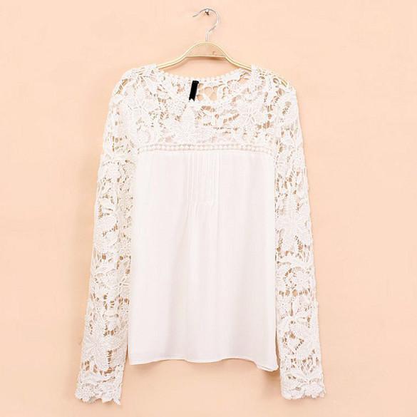 Giobanna lace blouse