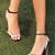 Open Strap Square Toe Heels in Black, White & Blush