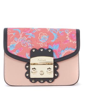 mini bag shoulder bag leather pink pink leather