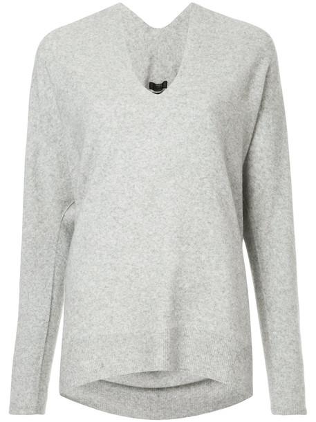 Aula jumper women grey sweater