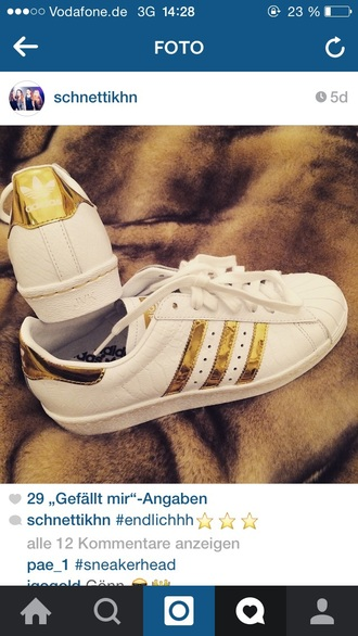 shoes adidas sneakers adidaswomen gold shoes gold and white adidas flux sneakers white