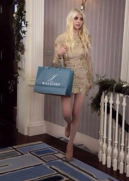 gossip girl jenny humphrey dress prom sequin dress prom dress