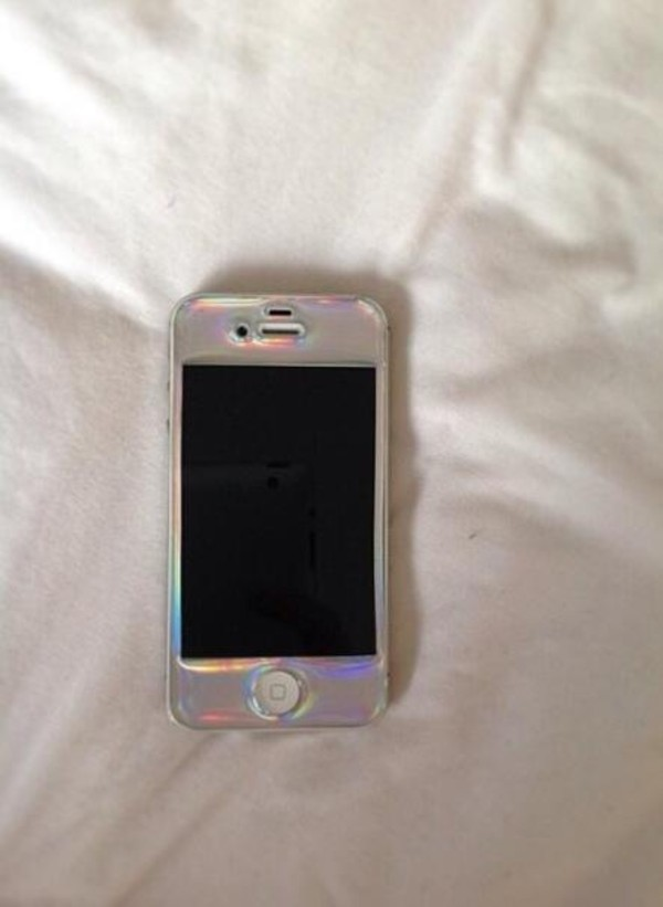 jewels holographic iphone cover phone cover