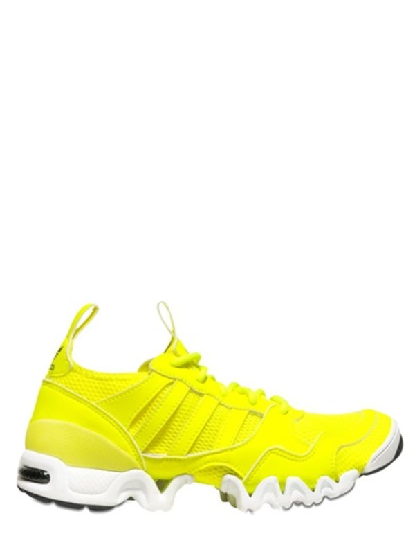 shoes adidas originals blue sneakers trainers yellow