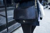 bag,givenchy,chain,black bag