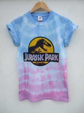jurrasic tie dye dinosaur