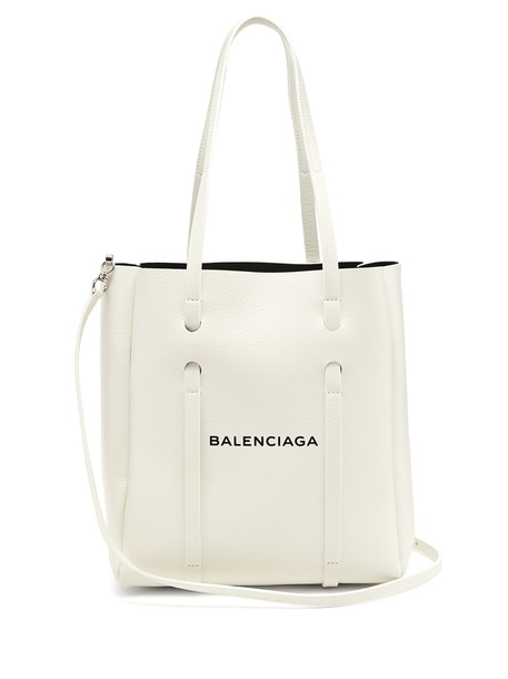 Balenciaga white black bag