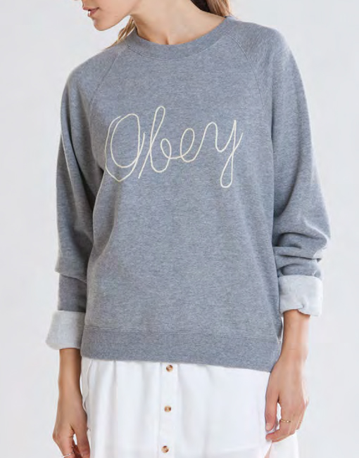 Obey clothing demeter crew