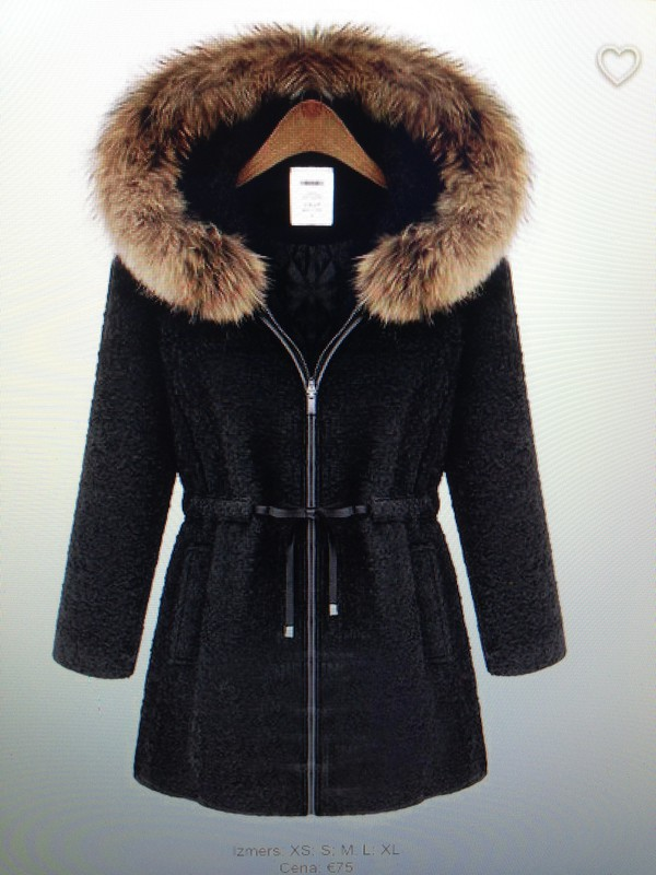 clothes fur coat winter outfits warm wool black jacket style fashion