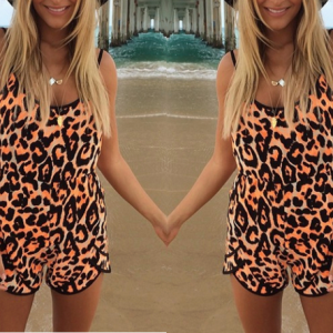 Gorgeous Leopard Print Playsuit. | Glamorous Clothing