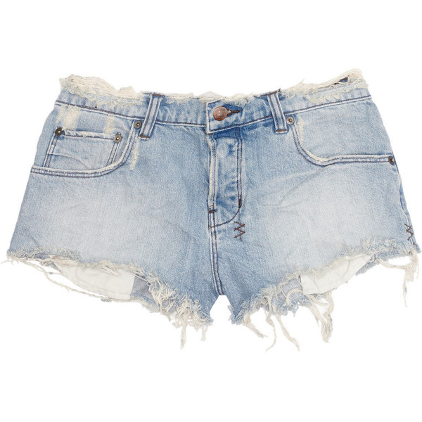 Ksubi Alberceque distressed denim shorts - Polyvore