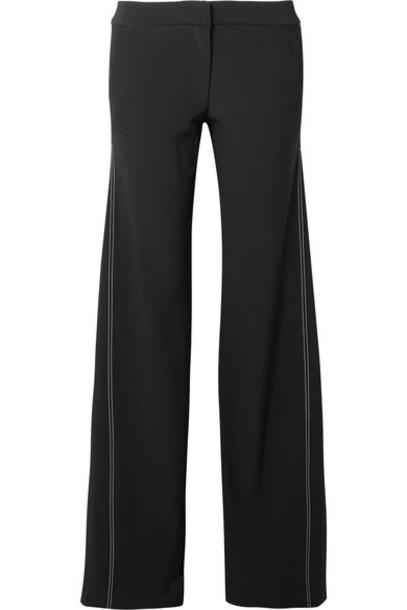 La Ligne pants embroidered black