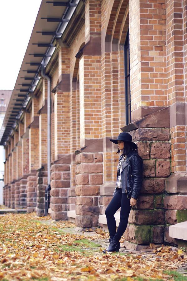 mode junkie blouse jeans jacket hat shoes