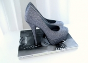 shoes,heels,high heels,grey