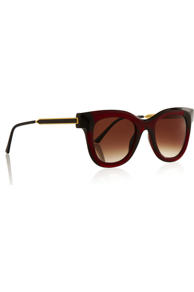 Frame acetate and metal sunglasses
