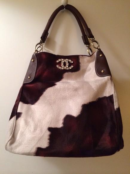 diamonds chanel style bag chanel bag