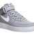Nike Air Force 1 Mid Wolf Grey White M - Unisex Sports