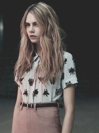 shirt style fashion cara delevingne