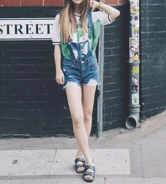 t-shirt shorts summer outfit shirt