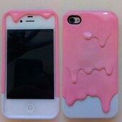 jewels,iphone,pink,iphone cover