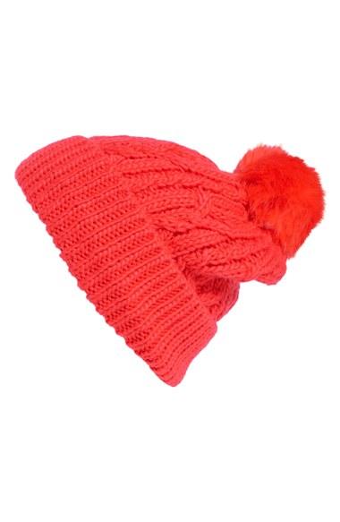 Hinge Knit Pompom Beanie | Nordstrom