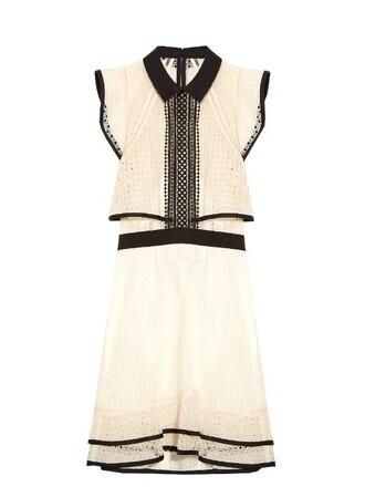dress mini dress mini white black