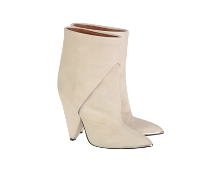 Daithy boots - White leather boots - White - Shoes - Women - IRO