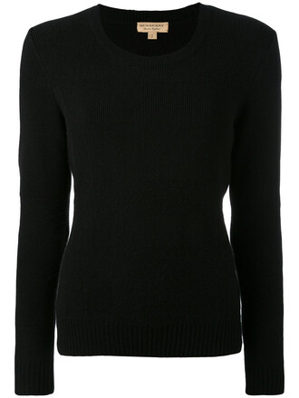 jumper women black wool sweater