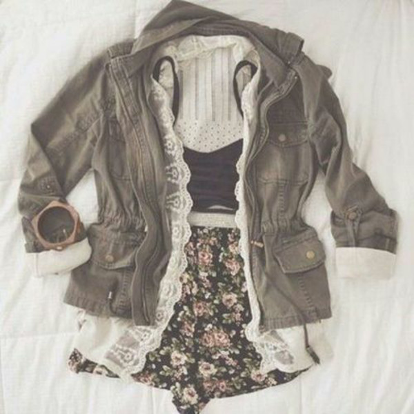 shorts jacket blouse underwear bralette green army green jacket camouflage camouflage top bracelets cute coat shirt skirt green jacket lace jacket olive green vintage black floral crop tops army green jacket boho bohemian spring cardigan lace floral vintage green coat hipster
