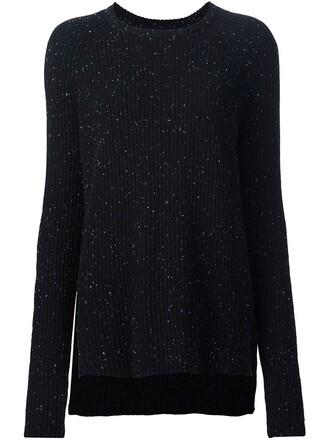 jumper women black sweater
