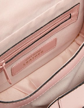 Pink | River Island Pastel Pink Mini Hunter Satchel Bag at ASOS