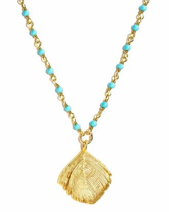 jewels turquoise shell fob chain pocahontas