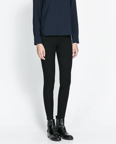 PANTALON STYLE LEGGING - Leggings - Pantalons - Femme  68fbdc0a04a