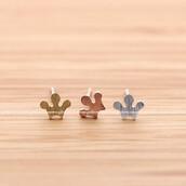 jewels,jewelry,earrings,tiara,tiara earrings,tiara stud,wedding,princess