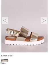 shoes,flat sandals,metallic shoes,silver