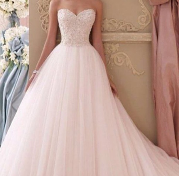 dress i want this dress so if u please  find it please let me know idk glitter flowers white peace prom wedding dress pretty