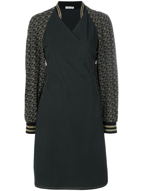 Tomas Maier dress women spandex sporty cotton black