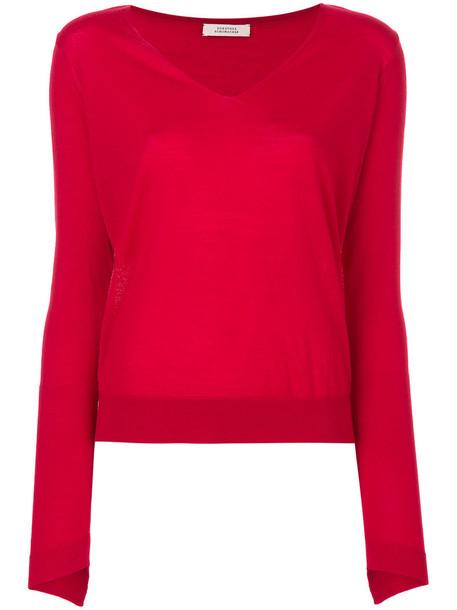 Dorothee Schumacher sweater women wool red