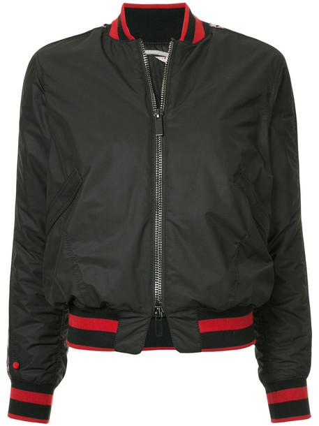 Kru - bomber jacket - women - Polyamide/Polyester - S, Black, Polyamide/Polyester