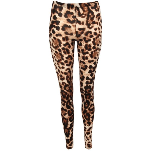Jane Norman Leopard Print Leggings - Polyvore