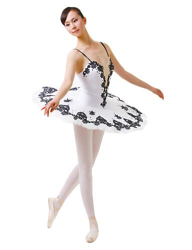 Dancewear spandex ballet dance performance dress for ladies