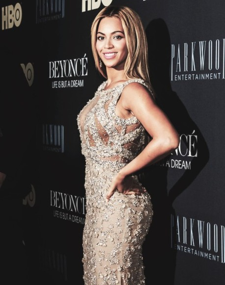 dress sequin dress beyonce beautiful stunning beige black hot