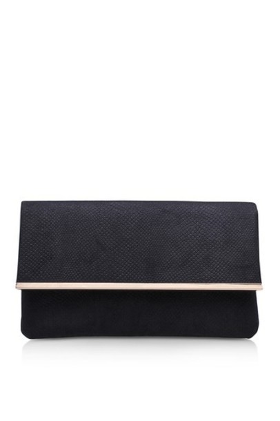 Topshop clutch black bag
