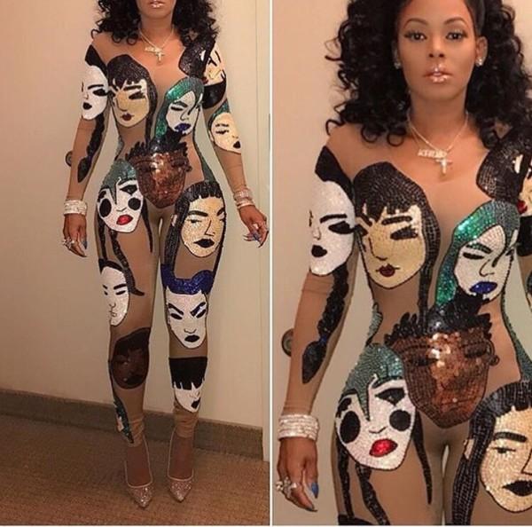 jumpsuit keisha kaoir