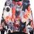 Grey All Over Cats Print Round Neck Sweatshirt - Sheinside.com